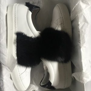 Givenchy Sneakers with Fur